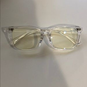 Accessories - Clear frame blue light glasses